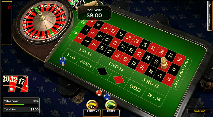 How do you win money in roulette?